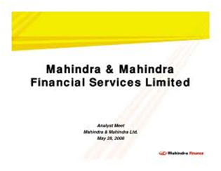 Mahindra Finance Car Loan Customer Login