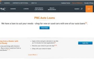 Check Ready PNC Auto Loans
