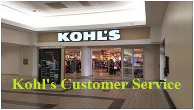 Kohl's Customer Service number