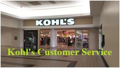 Kohl's Customer Service number