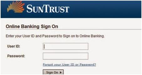 SunTRust Account Login